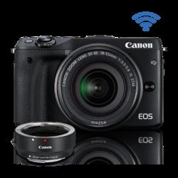 EOS M3 EF-M 18-55 IS STM Kit