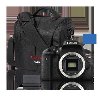 EOS Rebel T6i Body with BONUS Accessory Kit