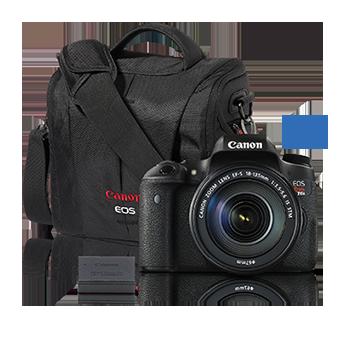 EOS Rebel T6s 18-135 IS STM Kit with BONUS Accessory Kit