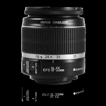 Kit Lens EF-S 18-55mm f/3.5-5.6 IS II