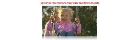 Fonction photo en mode vidéo