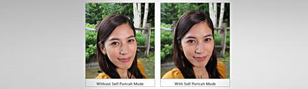Self Portrait Mode