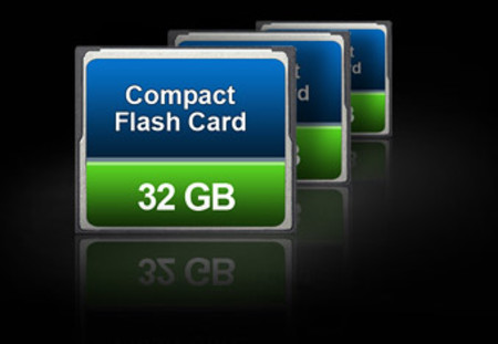 Enregistrement sur carte Compact Flash