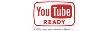 Prêt pour YouTube