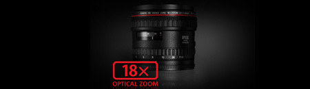 Genuine Canon 18x HD Lens