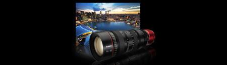 Objectif zoom de cinéma EF E14,5-60mm T2,6L