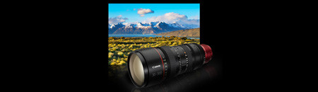EF Cinema Zoom Lenses CN E30-300 mm T2.95-3.7